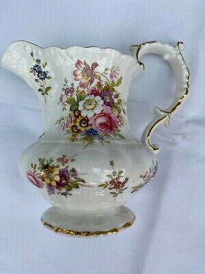 Hammersley Dresden Fine Bone China Jug Stamped No 3 • 10£