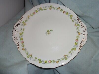 Vintage Royal Standard 'nose Gay' Cake Sandwich Plate 10 1/2 Inches • 7.99£