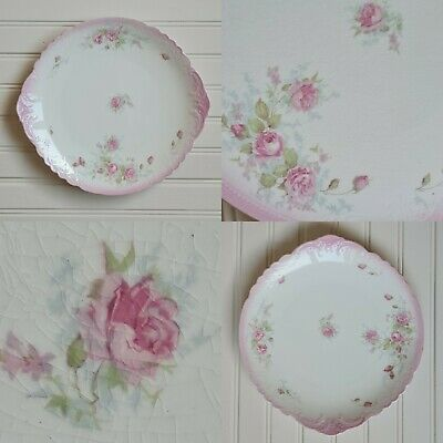 Pretty Vintage Floral Cake Plate By WH Grindley • 10.95£