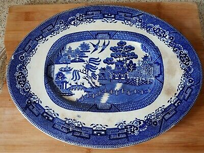 Willow Pattern Platter • 3.80£