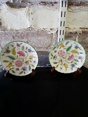 Vintage Haddon Hall By Minton Pair Of Small Dishes  • 9.99£