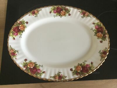 Country Roses Serving Plate • 7.50£