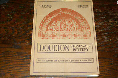 Catalogue Of An Exhibition Of Doulton Stoneware And Terracotta 1870-1925 Part 1 • 15£