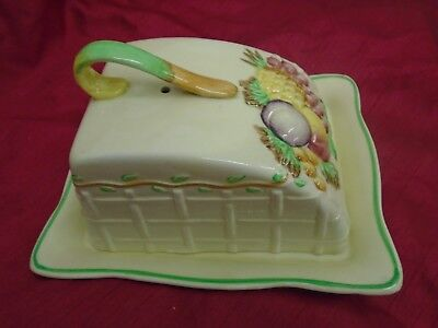 Royal Staffordshire Butter Dish • 23£