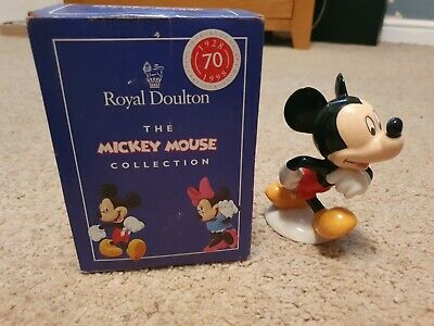 Lovely Royal Doulton Disney 70th Anniversary Mickey Mouse MM1 Figurine  • 12£