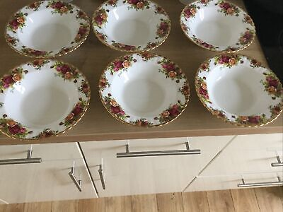 Country Roses 6 Fruit Bowls • 11.50£