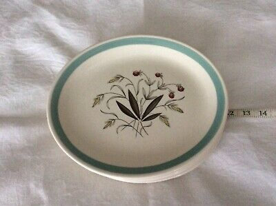 Vintage Alfred Meakin Hedgerow Oval Dinner Plates X 6 • 8.99£