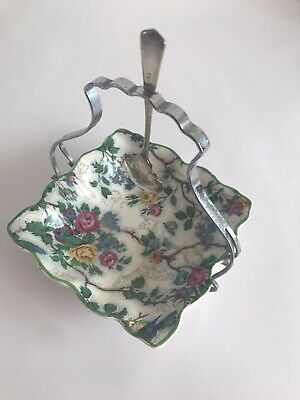 Vintage Midwinter Floral Jamtray • 7.50£