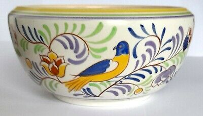 1950s Poole Pottery  E/SY  Bird Pattern Wide Bowl 431   Molly Brown / J Sydenham • 10£