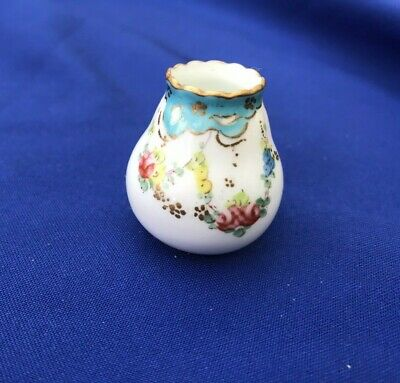 Royal Crown Derby Miniature Vase Old Piece Made In 1908 • 10£