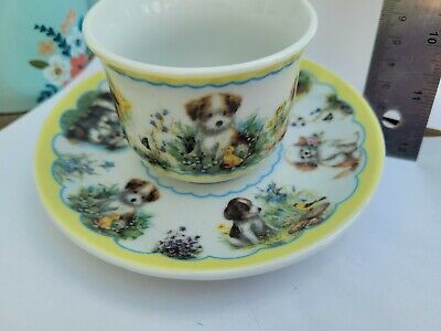 Cup And Saucer Collectible Pieces Animal Wlfare Set  Dogs • 1.99£