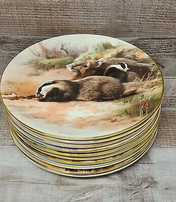 Collection Of Royal Worcester Display Plates 'Thorburns Mammals'  • 9.99£