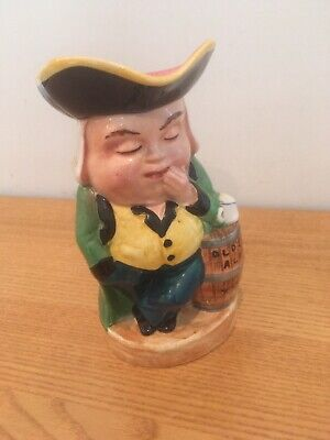 Vintage Toby Jug 'The Sleeper' Made In England • 5£