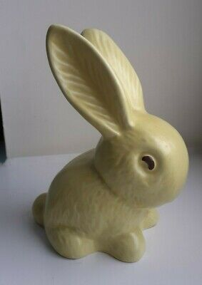 SYLVAC BUNNY RABBIT 990 Yellow In Excellent Condition. Approx. 5 Inches Tall. • 26£