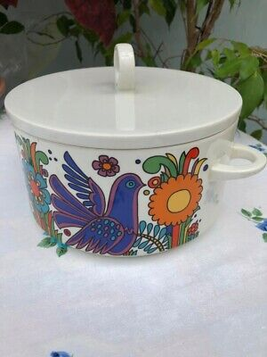 Villeroy And Boch Acapulco Large Tureen And Lid 16cm High Inc Handle Rare • 40£