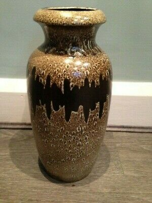 Large Scheurich West German Vase With Paper Label 291-38 • 4.39£