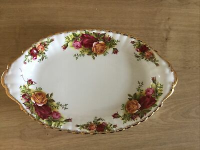 Country Roses Oval Dish • 0.99£