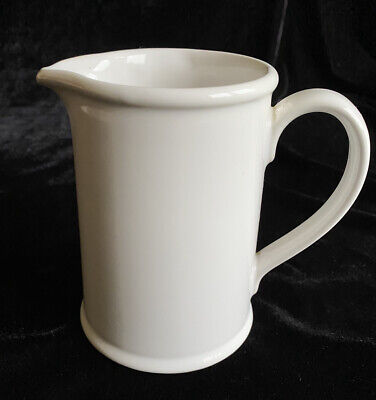 """Vintage Ulster Ceramics PLC Classic Selection Large White Jug - 5"""" Tall 3/4 Pint • 12£"""