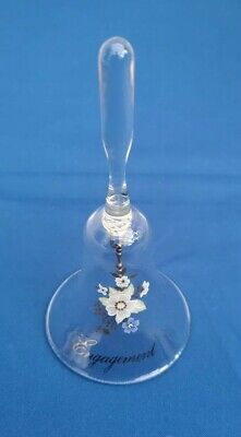 Glass Bell Engagement Gift • 2.99£