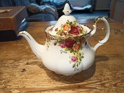 Royal Albert Old Country Roses Large Teapot ~ Excellent Condition ( H ) • 16£