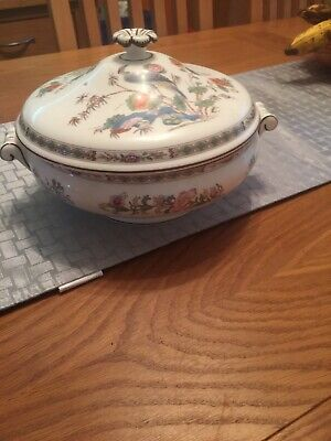Wedgwood Kutani Crane Covered Vegetable Dish Excellent Condition. • 21£