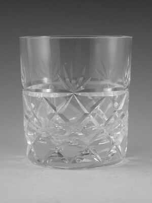 Royal BRIERLEY Crystal - BRUCE Cut - OF Tumbler Glass / Glasses - 3 1/4  • 24.99£