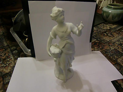 Parian Figure - Probable Continental - Unmarked And Date Unknown • 75£