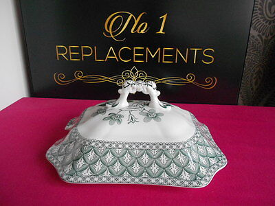 Spode Green Geranium Replacement Lid For Soup Tureen • 19.99£