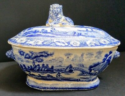 Small Antique Pottery Tureen C.1830 • 240£