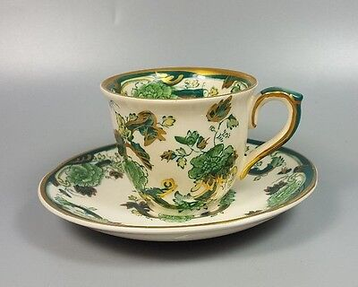 Masons Chartreuse Coffee Cup And Saucer (perfect) • 9.99£