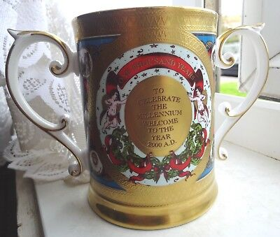 Superb Limited Edition 2/100 Caverswall Millennium Loving Cup Exc Gilding • 25£