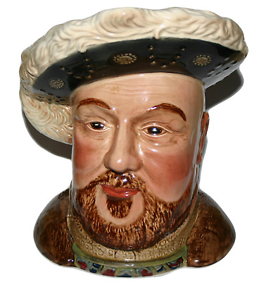 King Henry VIII Large Toby Jug 2099 Beswick Pottery Vintage Collectors Item Rare • 24.99£