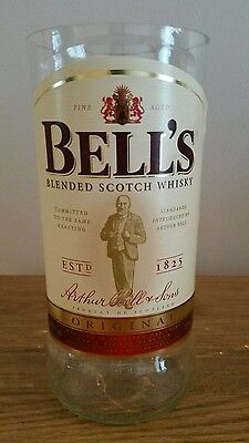 Bells Whisky Upcycled Glass And Shot Glass  • 20£