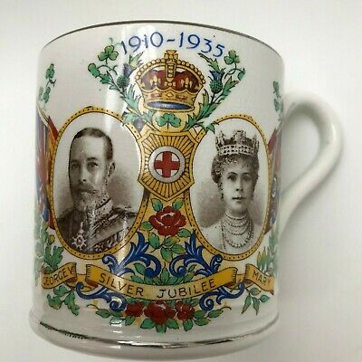 Devon Ware 1911 George V & Queen Mary Coronation Commemorative Mug • 8.99£