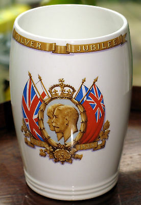 Commemorative : King George & Queen Mary Silver Jubillee Beaker - Presented • 29.99£