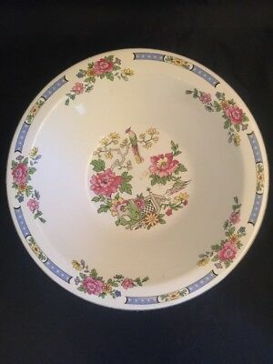Vintage Lord Nelson Pottery England T'SING Chinese Design Large Bowl • 30£