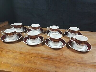 Vintage Maddock Part Coffee Set 16 Pieces • 19.99£
