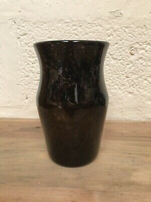 Strathearn Art Glass Vase Aventurine—FREEPOST • 55£