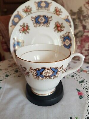 Royal Sutherland Trio - Cup, Saucer & Sideplate • 5.99£