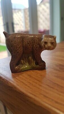 ⭐️Vintage Lynx Cat By Wade England Figurine ⭐️ Collectible Ex Condition ⭐️ • 13£