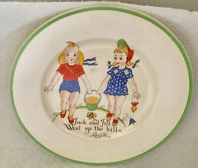 Vintage W. R. Midwinter China Cup - Peggy Gibbons Jack And Jill - Plate • 9.91£