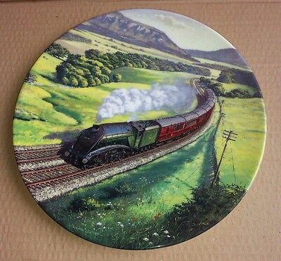 Royal Doulton - Collectors  Plate Sunshine & Steam - Past Green Fields -trains • 7.99£
