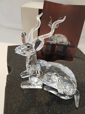 New NEVER DISPLAYED Swarovski Silver Crystal Kudu 1994 Collector Annual Edition  • 85£