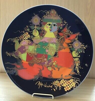Rosenthal Bjorn Winblad Studio Line Charger From 1001 Nights • 40£