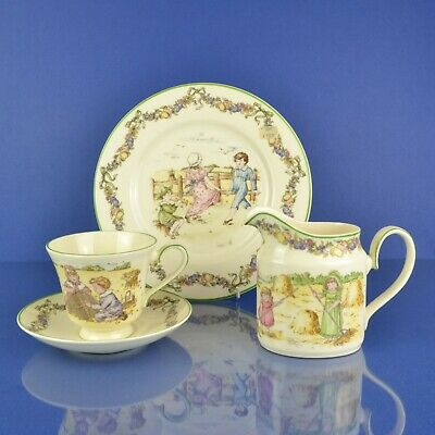 Royal Doulton Archives Pastime Autumn Series Ware #0105 Cup, Saucer, Jug, Plate • 29.99£