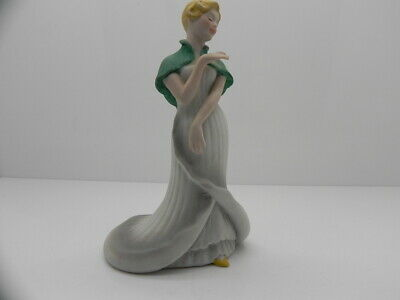 Collectable Franklin Porcelain Collection Frances The Lady Calla Lilly  Figurine • 12.99£