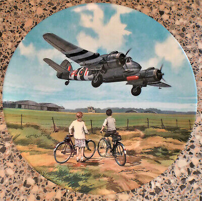 Royal Doulton Heroes Of The Sky Beaufighter Coastal Mission China Wall Plate • 10.99£