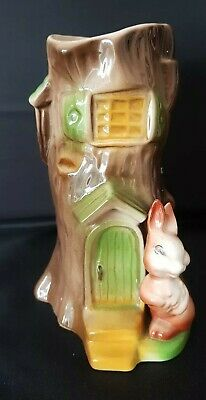 WITHERNSEA Eastgate Fauna - Rabbit Tree House 1960's Pottery • 18.99£