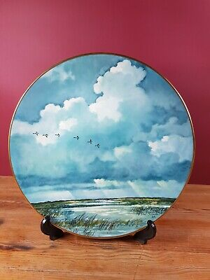 Marshlands By Eric Sloane Limited Edition 1823/15000 1981 Royal Doulton Plate • 12.99£