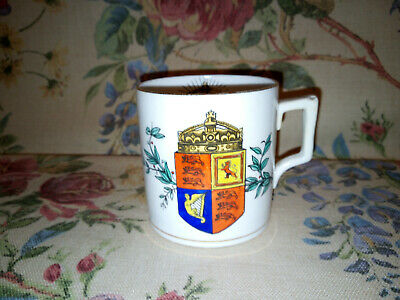 Antique Victorian 1887 Jubilee Cup / Mug ~ RD No 64761 • 15£